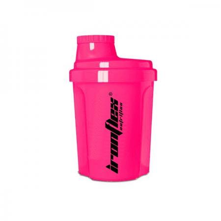 IronFlex Nano Shaker 300 мл, розовый