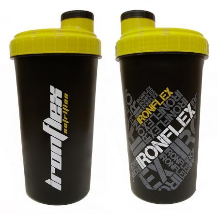 IronFlex 700 мл, черный с желтым