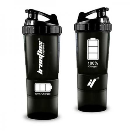 IronFlex Spider Bottle 500 мл + 2 контейнера, 100% Charged