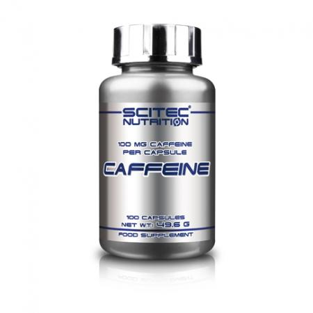 Scitec Caffeine, 100 капсул