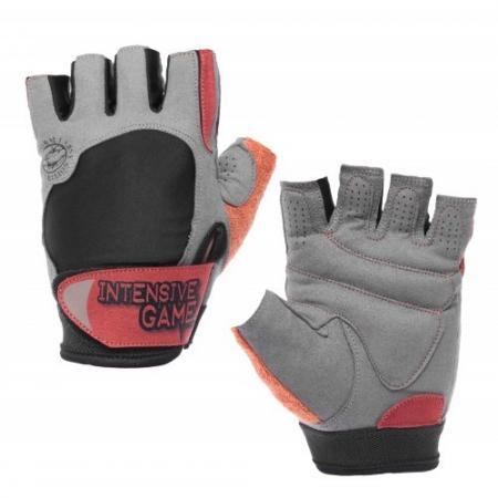 Перчатки мужские Form Labs Inteensive Game MFG 255, серо красные