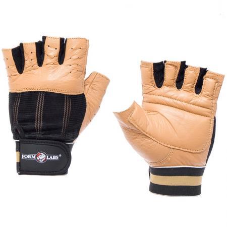 Перчатки мужские Form Labs Classic MFG 253, коричневые