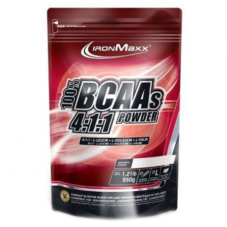 IronMaxx BCAA 4:1:1, 550 грамм