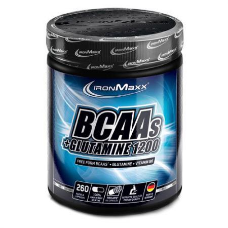 IronMaxx BCAAs + Glutamine 1200, 260 капсул