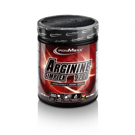 IronMaxx Arginin Simplex 1200, 260 капсул