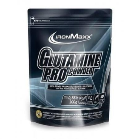 IronMaxx Glutamine Pro Powder, 300 грамм