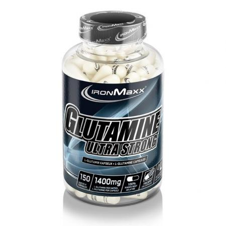 IronMaxx Glutamine Ultra Strong, 150 капсул