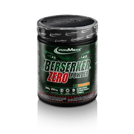 IronMaxx Berserker Zero Powder, 250 грамм