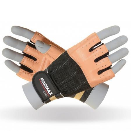Перчатки MAD MAX CLASSIC MFG 248, коричневые