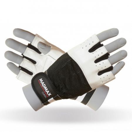 Перчатки MAD MAX CLASSIC MFG 248, белые