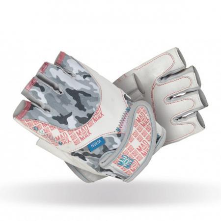Перчатки женские MAD MAX No matter, белые - MFG 931