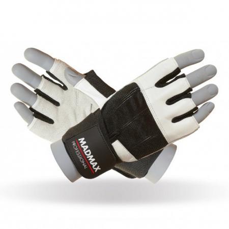 Перчатки MAD MAX Professional, белые - MFG 269