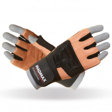 Перчатки MAD MAX Professional, коричневые - MFG 269