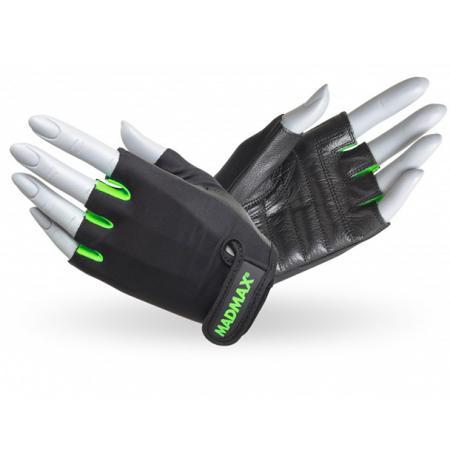 Перчатки MAD MAX Rainbow, зеленые - MFG 251