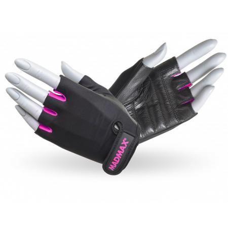 Перчатки MAD MAX Rainbow, розовые - MFG 251