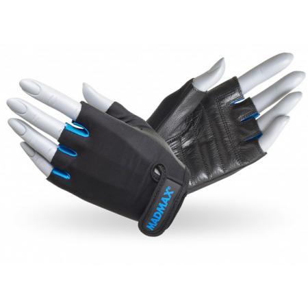 Перчатки MAD MAX Rainbow, голубые - MFG 251
