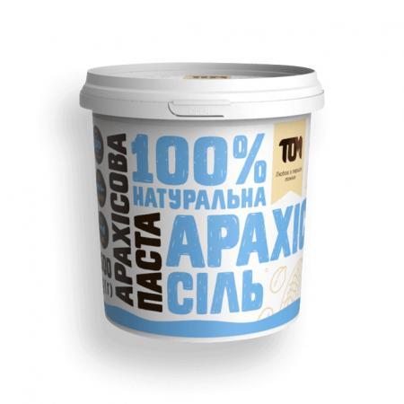 MasloTom арахисовая паста с солью, 500 грамм