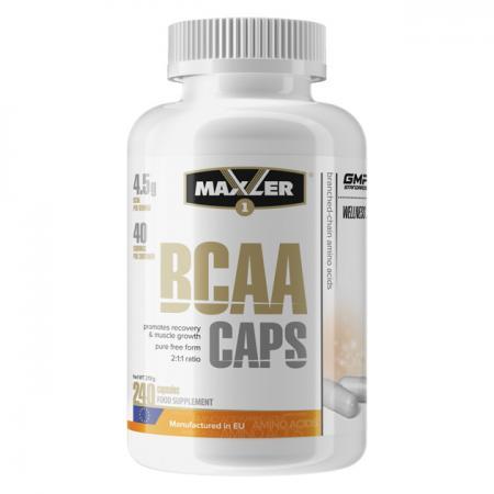 Maxler BCAA Caps, 240 капсул