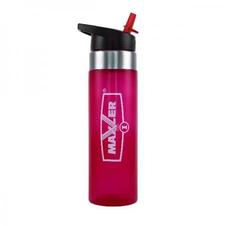 Maxler Water Bottle 550 мл, розовая