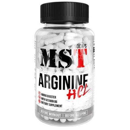 MST Arginine HCL, 90 капсул