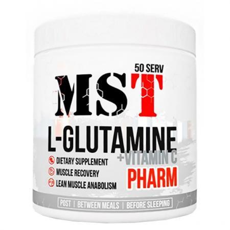 MST Glutamine + Vitamin C, 260 грамм