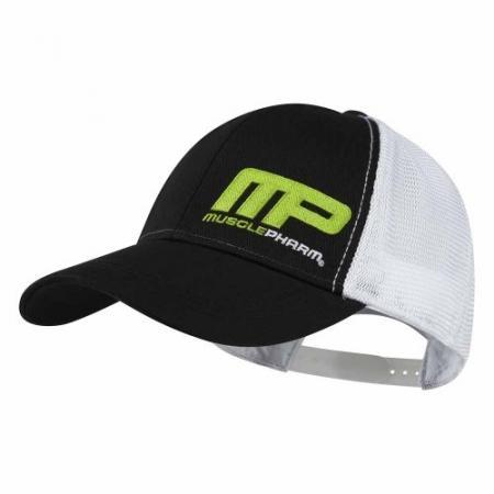 Кепка MusclePharm - черно-белая