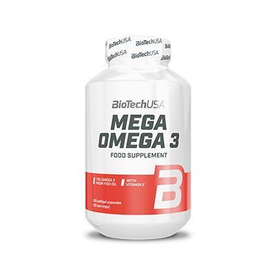 BioTech Mega Omega 3, 180 капсул