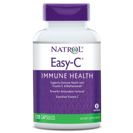 Natrol Easy-C 500mg, 120 капсул