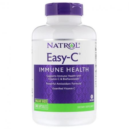Natrol Easy-C 500mg, 120 капсул