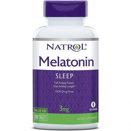 Natrol Melatonin 3mg, 240 таблеток