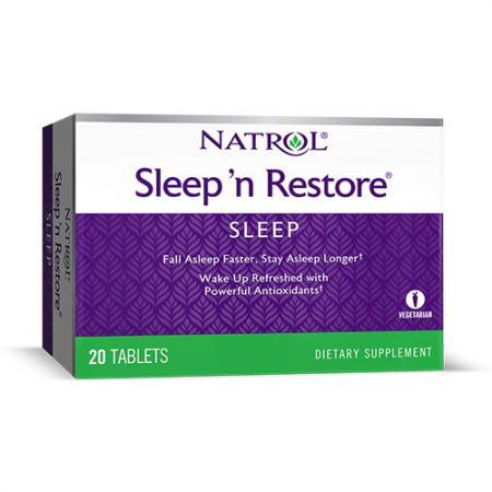 Natrol Sleepn Restore, 20 таблеток