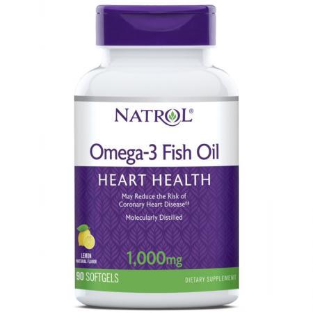 Natrol Omega-3 1000mg, 90 капсул