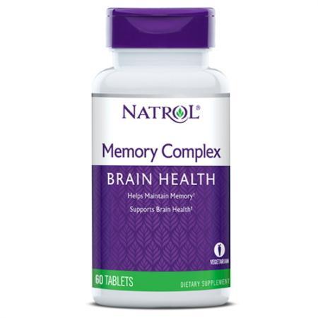Natrol Memory Complex, 60 таблеток