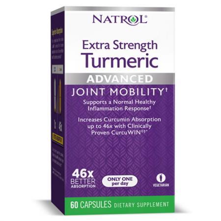 Natrol Turmeric Extra Strength, 60 капсул