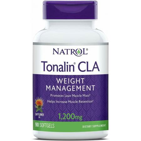 Natrol Tonalin CLA 1200mg, 90 капсул