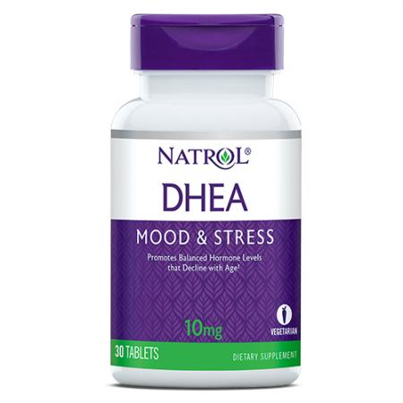 Natrol DHEA 10mg, 30 таблеток
