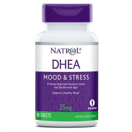 Natrol DHEA 25mg, 90 таблеток
