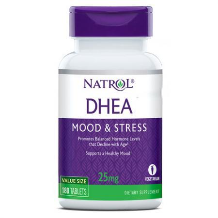 Natrol DHEA 25mg, 180 таблеток