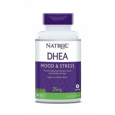 Natrol DHEA 25mg, 300 таблеток
