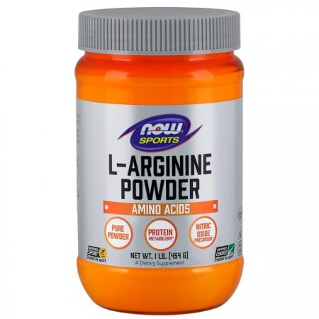NOW L-Arginine Powder, 454 грамм