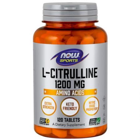 NOW L-Citrulline 1200 мг, 120 таблеток