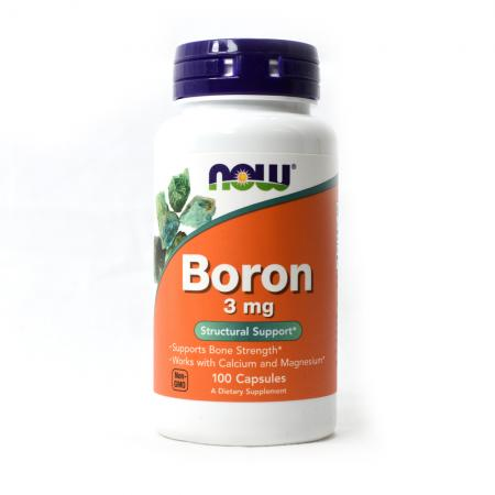 Now Boron 3 mg, 100 капсул