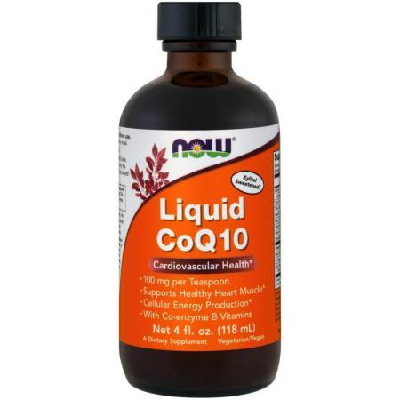 NOW CoQ-10 Liquid, 118 мл