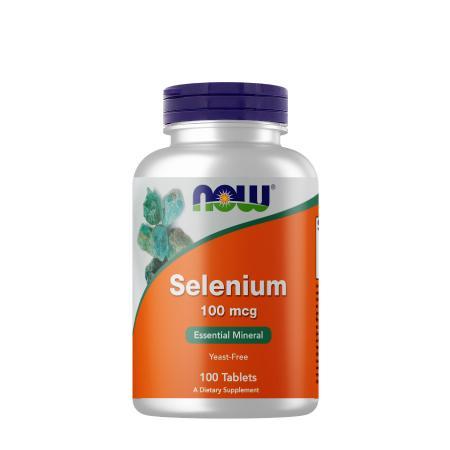 NOW Selenium 100 mcg, 100 таблеток