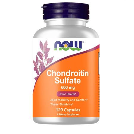 NOW Chondroitin Sulfate 600 mg, 120 капсул