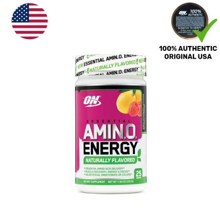 Optimum Essential Amino Energy Natural Flavor, 225 грамм