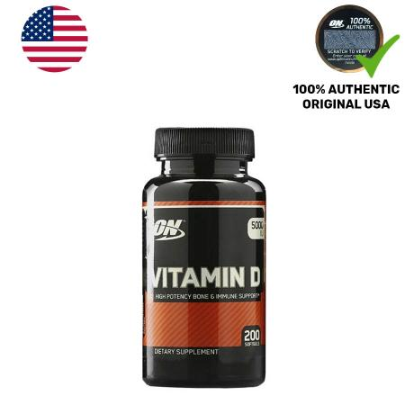 Optimum Vitamin D, 200 капсул