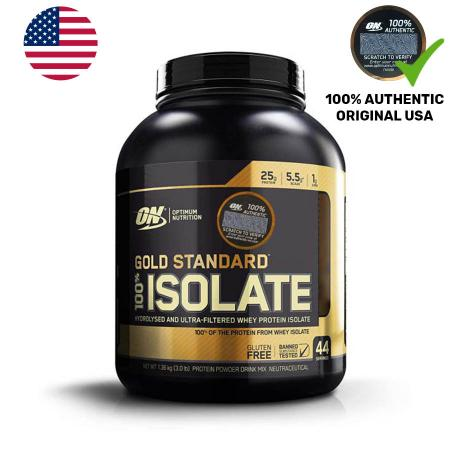 Optimum Gold Standard 100% Isolate, 1.3 кг