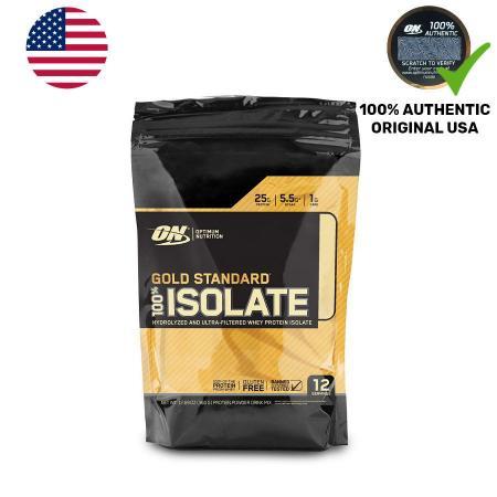 Optimum Gold Standard 100% Isolate, 360 грамм