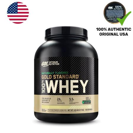 Optimum Naturally Flavored Gold Standard 100% Whey, 2.3 кг